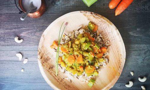 Indische Gemüsepfanne